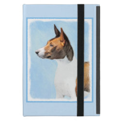 Powis iCase iPad Mini Case with Kickstand with Basenji Phone Cases design