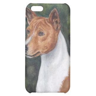 basenji pedigrí del caso del iPhone del perro