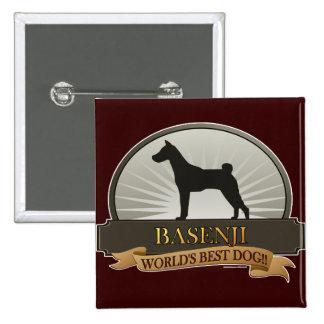 Basenji Pinback Button