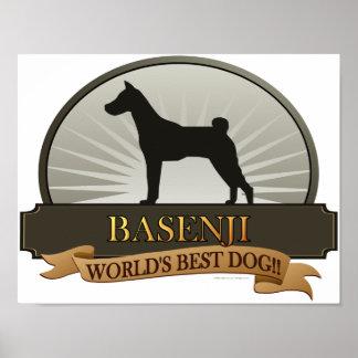 Basenji Posters
