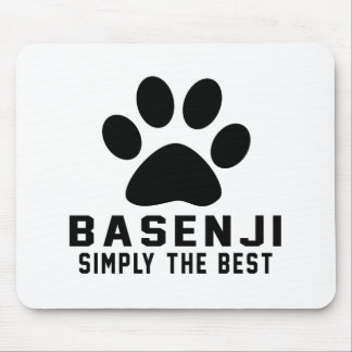 Basenji Simply the best Mouse Pad