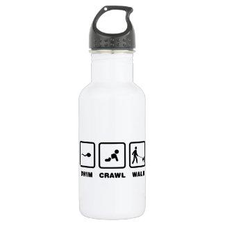 Basenji Stainless Steel Water Bottle