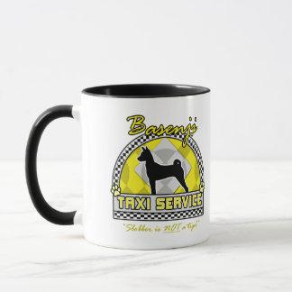 Basenji Taxi Service Mug