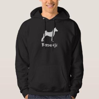Basenji w/ Cool Text (in white) Sweatshirt