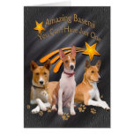 Basenji You Can't Have Just One Apparel Greeting Card