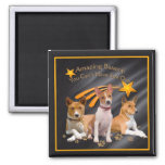 Basenji You Can't Have Just One Refrigerator Magnet