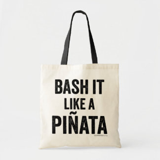 """Bash it"" quote tote bag Budget Tote Bag"