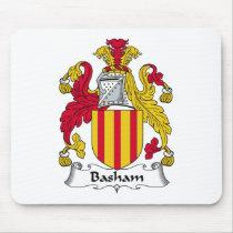 Basham Family Crest Mousepad
