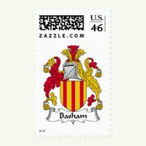 Basham Family Crest Stamps