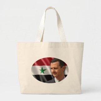 Bashar al-Assad بشار الاسد Large Tote Bag