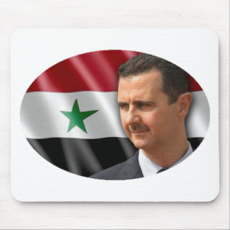 Bashar al-Assad بشار الاسد Mouse Pad