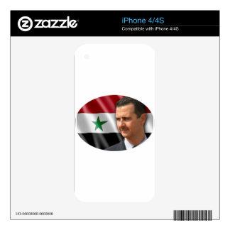 Bashar al-Assad بشار الاسد Skin For iPhone 4