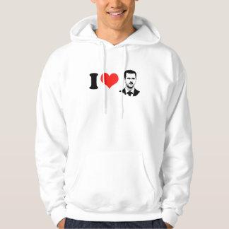 Bashar al Assad - International Leader -.png Hooded Pullover