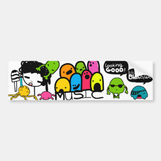 BashCandy Mix Bumber Sticker By Bash Candy