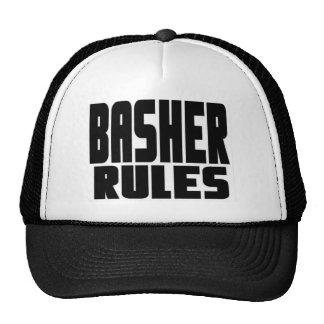 Basher Rules Logo Hat