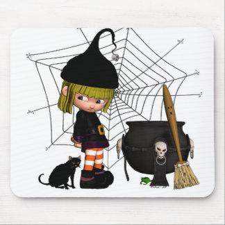 Bashful Brew Halloween Mousepad