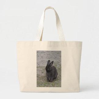 Bashful Bunny Rabbit Canvas Bag