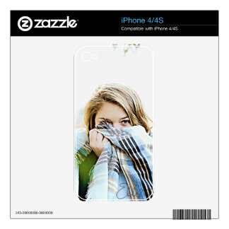Bashful iPhone 4S Decal