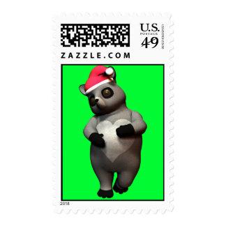 Bashful Raccoon Stamps