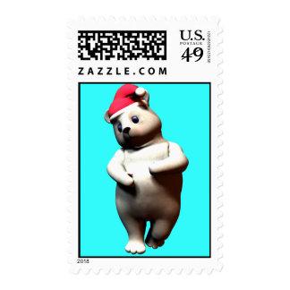Bashfull Polar Bear Stamps