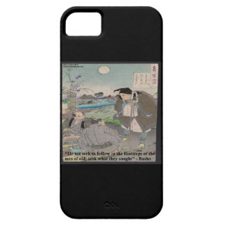 Basho & Famous Quote iPhone 5 Case
