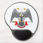 "BASIC 32nd DEGREE SCOTTISH RITE Gel Mouse Pad<br><div class=""desc"">The Ancient and Accepted Scottish Rite of Freemasonry, also know as Scottish Rite Freemasonry or 32nd Freemasonry, is one of two major Rites of American Freemasonry. It&#39;s central authority is called a Supreme Council. In the United States there are two Supreme Council, the Southern Jurisdiction and the Northern Masonic Jurisdiction....</div>"