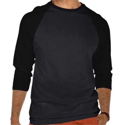 Basic 3/4 Sleeve Raglan: Grey/Black Tshirt
