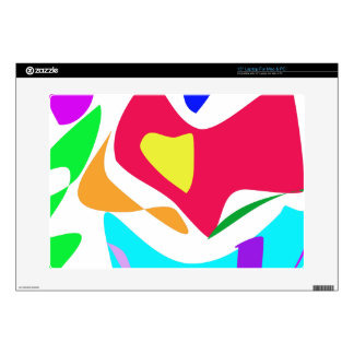 "Basic Abstract 15"" Laptop Decal"