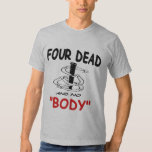 Basic American Apparel Horseshoes 4 DEAD T Shirt