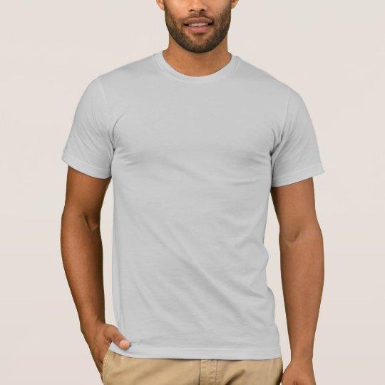 Basic American Apparel T-Shirt Silver