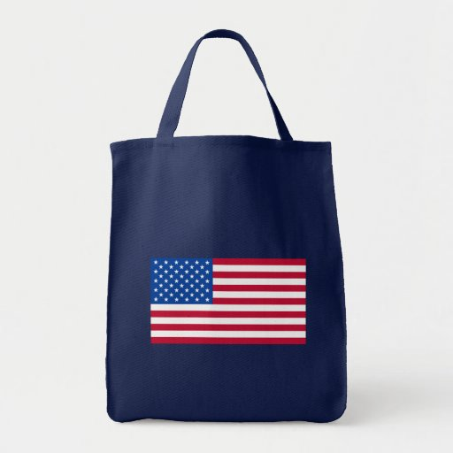 Basic American Flag Products Canvas Bag