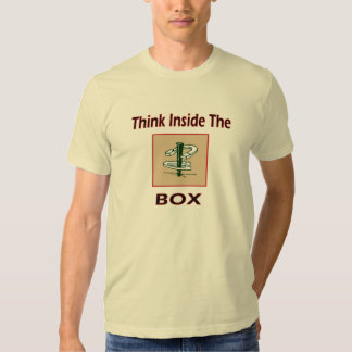 Basic American HorseShoes Tee-Think Inside the Box T-shirt