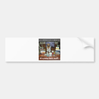 basic ammonia.jpg bumper sticker