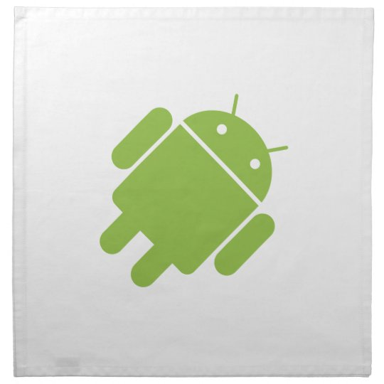 Basic Android OS Robot Cloth Napkin