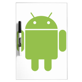Basic Android OS Robot Dry Erase Whiteboards