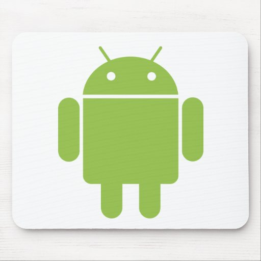 Basic Android OS Robot Mouse Pad