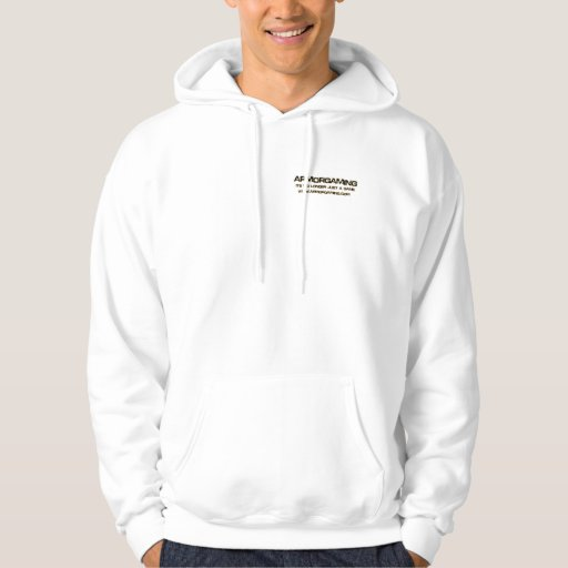 Basic ArmorGaming Hooded Sweatshirt, White Hoodie