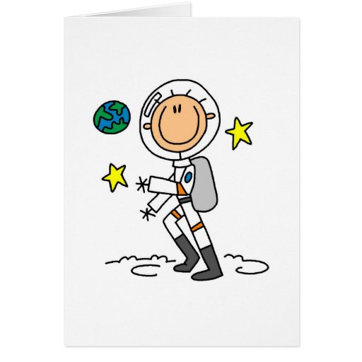 Basic Astronaut Tshirts and Gifts Cards