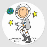 Basic Astronaut Tshirts and Gifts Sticker