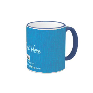 Basic Baby Blue, Your Text Here Mug