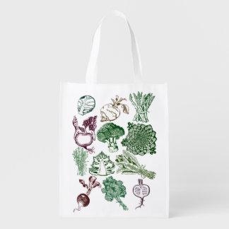 Basic Bag with Organic Food Print