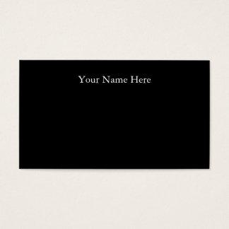 Basic Black Business Cards