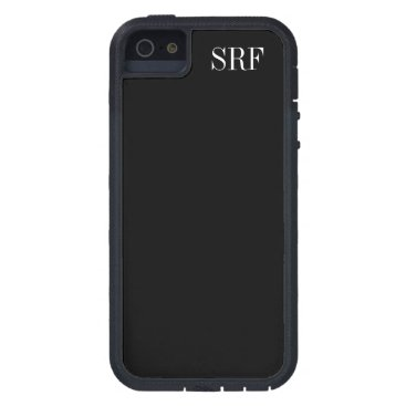 Professional Business Basic Black Cell Phone / iPhone5s Case - SRF