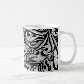 Basic Black Classic White Coffee Mug