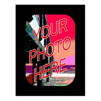Basic Black Frame Postcard