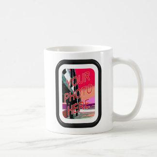 Basic Black frame with mat Coffee Mug