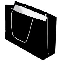 Basic Black Large Large Gift Bag