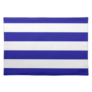 Basic Blue and White Stripes Placemat