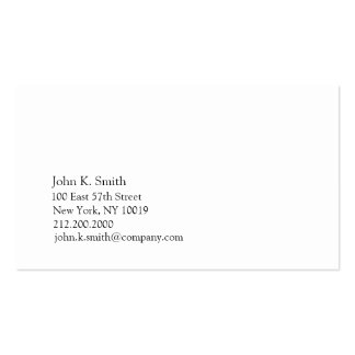 Basic Blue II Double-Sided Standard Business Cards (Pack Of 100)