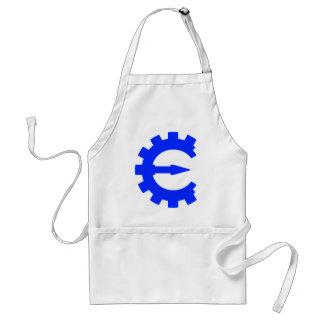 Basic Blue Logo Adult Apron